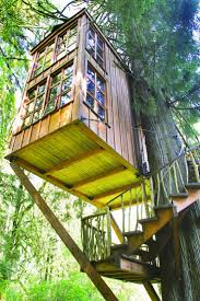 A Very, very nice children's (adult kids too) tree house. Suspended and   TreehousesExterior DesignFor ...