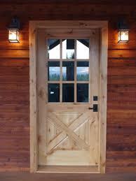 Barn Style Front Door