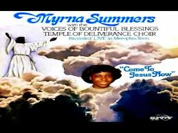 """Oh Give Thanks - Myrna Summers, """"Come To Jesus Now"""" - YouTube"""
