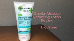 garnier makeup removing lotion review