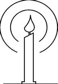 Small Picture Candle Bible Coloring Pages candle coloring page isrs2011