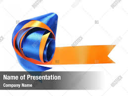 Blue And Orange Powerpoint Template Blue And Orange Powerpoint Template Powerpoint Template