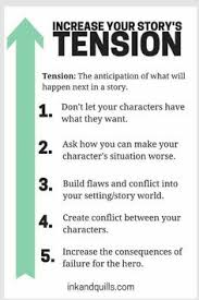 trigger chart personalities great for creative writing nanowrimo 2017 reminder increase tension in your story