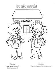 Immagini Di Accoglienza Scuola Infanzia Schede Da Colorare