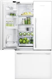 white french door refrigerator. Fisher \u0026 Paykel RF522ADW4 French Door Style Fridge Freezer (White) White Refrigerator A