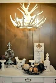 chandeliers white antler chandelier faux by small