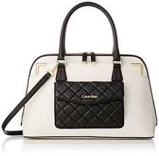 Calvin Klein Lamb Cross Body Bag, Black/Gold, One Size Calvin ... & Calvin Klein Saffiano Top Handle Bag, White/Black Quilt - http:// Adamdwight.com