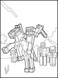 Disegni Minecraft Da Colorare 10