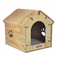 Cardboard House For Cats Wood Grain Cat Cardboard House With Scratching Mat Cardboard Cat