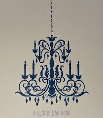 chandelier stencil how to 18 of 18 3