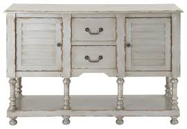 white console cabinet. Wonderful Distressed Console Table With Finish Vintage Style White Cabinet I