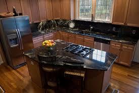 image of black granite countertops maintenance