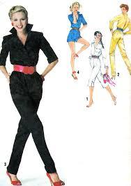 Simplicity Jumpsuit Pattern Magnificent 48s Womens Jumpsuit Pattern Simplicity 48 Rockabilly Long Or