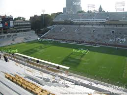 bobby dodd stadium section 222 view