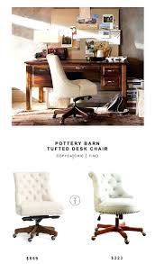 splendid potterybarn tufted desk chair 599 vs linon sinclair executive office chair 223 baseball glove