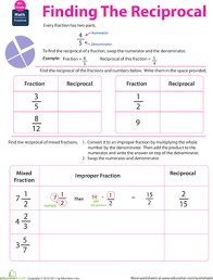 also Rearranging Formulae  various worksheets  by mej   Teaching together with 14 best Education images on Pinterest   Education  School and additionally Worksheets  Central Tendency Worksheet  atidentity   Free furthermore Fraction Math  Find the Reciprocal   Worksheet   Education in addition s   i pinimg   736x 17 30 b7 1730b7f0d4e1453 additionally World 3   Fractions   Osky 6th Grade Math additionally  as well Fraction Worksheets and Printables for Dividing Fractions and likewise 118 best Mathletes images on Pinterest   School  Math addition moreover Customizable and Printable Negative Exponents Worksheet   Math. on reciprocal math sixth grade worksheet
