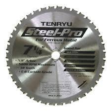 tenryu blades. item 1 tenryu prf-18538bw steel-pro 7-1/4\ blades 4