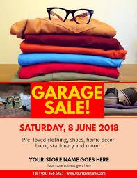 Make My Crap Your Crap Mega Garage Sale Yard Sale Flyer Dni