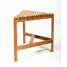 corner teak shower bench stunning fiji natural interior design 17