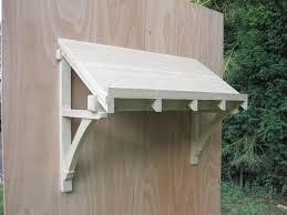 front door canopyWood Door Canopy  Home Design