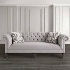 Image is loading DESIGNER-MODERN-CONTEMPORARY-CASPER-CHESTERFIELD-SOFA -SET-3-