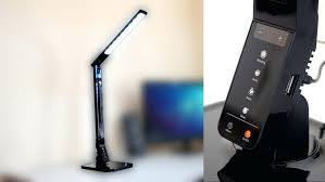 lamp table lamp with usb port touch controlled led w charging desk built in nightstand lamps