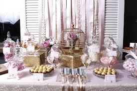 vintage inspired candy buffet