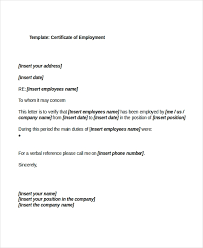27 Sample Certificate Of Employment Templates Pdf Doc