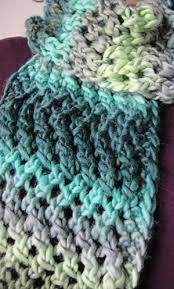 Knitted Scarf Patterns Using Bulky Yarn Magnificent Popular Free Knitting Patterns For Scarves With Bulky Yarn Lace Zig
