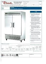 used true refrigerator true refrigerator shelves true series reach in refrigerator with 2 glass sliding doors