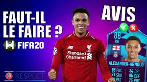 FIFA 20 SBC ALEXANDER ARNOLD POTM 88 AVIS [FR]🇫🇷🇧🇪 - YouTube