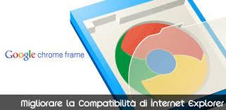 google ha rilasciato da poco chrome frame un plug in open source in beta con lo scopo di migliorare la patibilità del famigerato internet explorer con