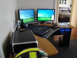 Slim Computer Desk 15 Envious Home Computer Setups Inspirationfeed