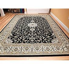 8x10 area rugs. Black 8x11 Persian Rug Oriental Rugs 8x10 Area Traditional Living Room On Clearance G