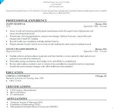 Lpn Nursing Resume Examples Mesmerizing Lpn Resume Sample Arzamas
