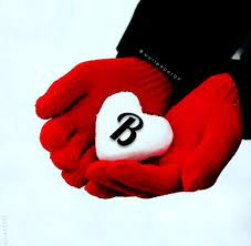 Snow heart Winter alphabet letters ...