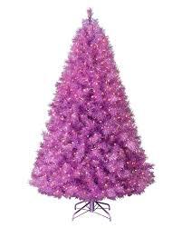 purple christmas tree  treetopia
