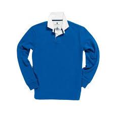 classic royal blue 1871 rugby shirt
