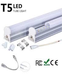 2 Feet Led Light Ilett Pack Of 7 Watts T5 Led Ceiling Light Fixture 2 Feet