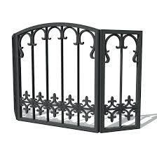 cast iron fireplace grate 327ml antique awesome screen
