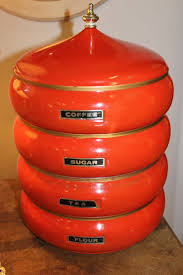 Lime Green Kitchen Canisters 17 Best Images About Vintage Canisters On Pinterest Set Of