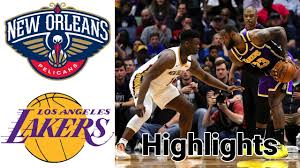 Pelicans vs Lakers HIGHLIGHTS Full Game