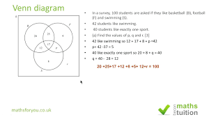 Venn Diagram Problem Solving Venn Diagram Problem Solving Math Diagram Word Problems Worksheet