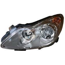 Left Headlamp Chrome Bezel For Opel Corsa D 2006 2011