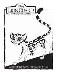 Small Picture Disney Lion Guard Fuli Coloring Page Mama Likes This