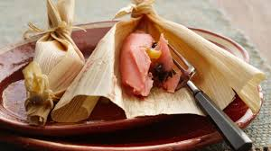 mexican food tamales.  Tamales Pink Mexican Tamales With Food A
