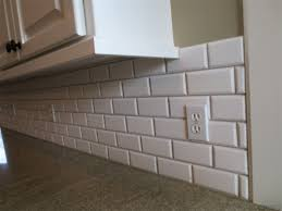 beveled marble subway tile