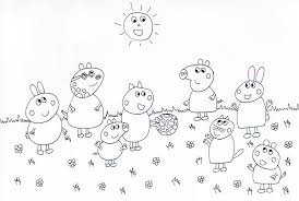 Disegni Di Peppa Pig Con Disegno Moto Per Bambini E Disegni Da