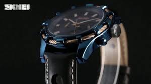 SKMEI 9189 <b>men fashion waterproof quartz</b> watches - YouTube