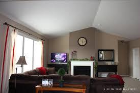 Paint Colors Living Room Accent Wall L L L L L